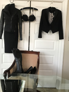 RUDSAK over the knee leather boots size 39 eu or 8.5 US