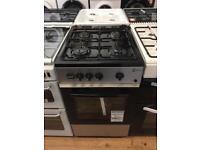 New Ex-Display Flavel FSBG51S Silver 50cm Gas Cooker £159