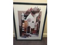 Abstract Framed Print - Rosina Wachmeister