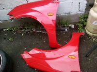 Front wings for ford fiesta