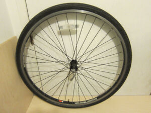 "Bontrager, Benotto 700C front , 26"" rear 9, disk and 26"" front"