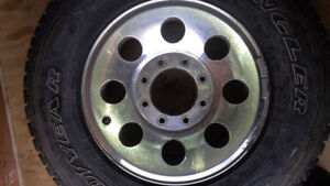 ford pickup truck OEM aluminum rims and tires