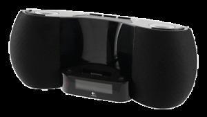 Logitech Pure-Fi Dream Speaker for iPod and iPhone (Black)