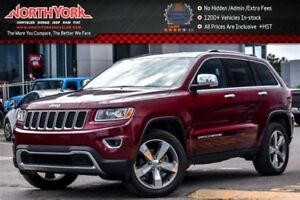 2016 Jeep Grand Cherokee Limited 4x4|Sunroof|Leather|HTD Seats|B