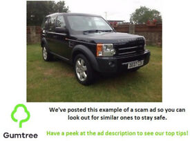 2007 Land Rover DISCOVERY 3 2.7 TD V6 HSE 5dr -- Read the description before replying to the ad!!