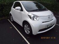 Toyota IQ pearlescent white
