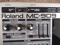 Roland mc909. Excellent condition.