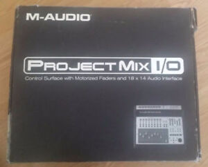 M Audio Project Mix I/0