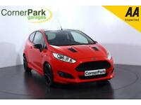 2014 FORD FIESTA ZETEC S RED EDITION HATCHBACK PETROL