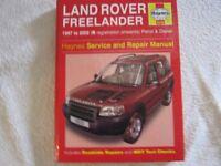 Haynes Land Rover Freelander Owner's Manual '97 to '02