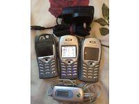 Sony Ericsson T68i X 3 - Grey Mobile Phone Retro (Vintage)