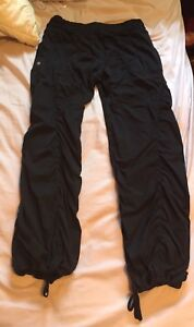 Size 10 lululemon studio pants
