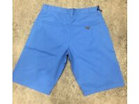 Brand New With Tags Men's AJ Shorts Sky Blue 30 Waist Only £15
