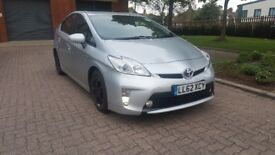 TOYOTA PRIUS UK MODEL ONE COMAPNY OWNER FROM NEW FULL HISTORY LEATHER SEATS CAMERA UBER READY PCO
