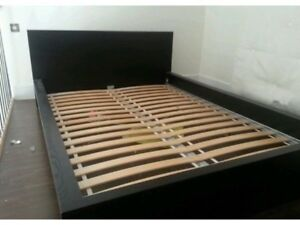 Full/double Malm bed frame (blackbrown)