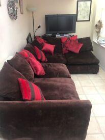 Nice L shape sofa £350 ono