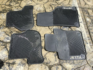 Jetta winter floor mats
