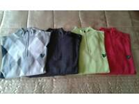 4 Lyle & Scott sweaters. Medium.