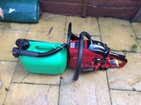 "14"" petrol chain saw, in good working order"