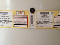 2 Full Weekend PLUS Camping V Festival Tickets