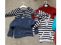 4 BABY JUMPERS (Age 12-18 months)