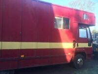 IVECO 7.5 horse box for sale