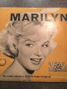 Vintage Marilyn Monroe Records