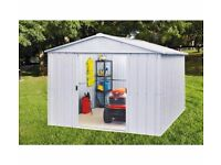 Metal Shed 10ft x 10ft Yardmaster. BRAND NEW STILL IN BOX.