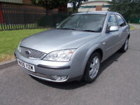 FORD MONDEO 2.0LT ZETEC AUTOMATIC 5 DR WARRENTED LOW MILEAGE open 7 days by appointment 7 days