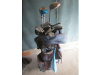 Set of Ladies Golf Clubs, right handed