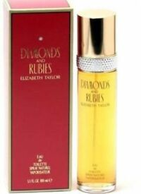 Diamonds & Rubies by Elizabeth Taylor 100ml Eau De Toilette Spray. Brand new and sealed. No offers