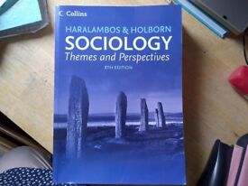 COLLINS SOCIOLOGY Themes and Perspectives (Haralambos and Holborn) 8th Edition