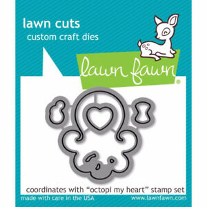 Lawn fawn octopi my heart die - $10