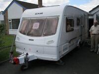 Lunar Touring Caravan 2004 in Excellent condition 4 Berth