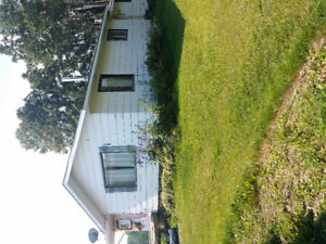 1 bedroom house on shared acreage