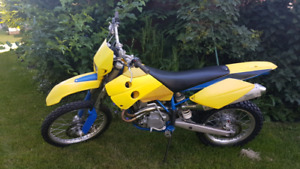 2004 husaberg fe450 blue plated street legal