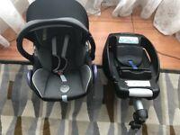 Maxi-Cosi Car Seat with Maxi-Cosi EasyFix Car Seat Base for Sale
