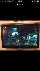 Black Samsung TV 37 Inch