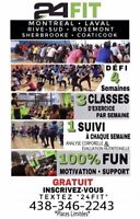 ****** INSCRIPTION SEPTEMBRE• 24Fit Challenge****