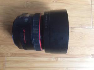 Lens / Lentille - Canon 50mm 1.2 USM