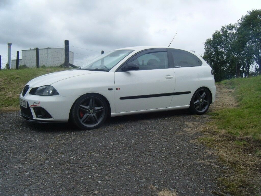 2007 seat ibiza 1 8 fr turbo 230 bhp long mot fsh rare in white big spec in invergordon. Black Bedroom Furniture Sets. Home Design Ideas