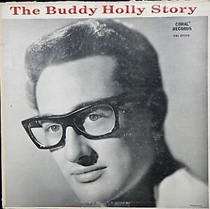 Two Buddy Holly albums-Buddy Holly Story/B. Holly & The Crickets