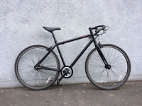 Large (21in or 54cm) New Single Speed Road Bike