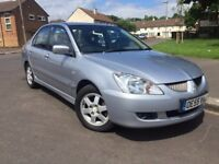 2006 Mitsubishi Lancer, 1.6 Petrol, 9 months MOT, nice and tidy!