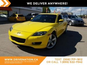 2004 Mazda RX-8 GT SPORTY RIDE! LOW KM! HEAD TURNER!