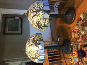 2 Tiffany Style Lamps