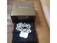 Genuine Gucci tag bracelet
