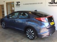 Honda Civic I-VTEC SE PLUS (blue) 2014-09-24