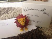 Simba The Lion King Disney Grolier Christmas Magic Decoration