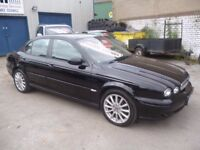 Jaguar X-TYPE SD 2.2D,4 door saloon,6 speed manual,2 keys,FSH,full MOT,full leather interior,Alloys